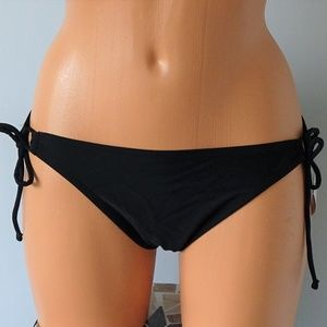 NWT Raisins Sweet Pea Black Junior Bikini Bottom